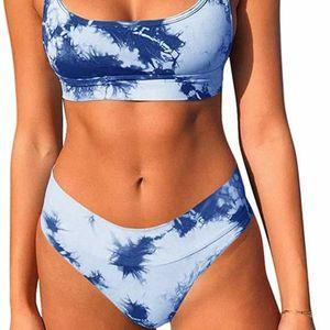 Blue Tie dye Bikini Set Bathingsuit swimsuit Size Xl for Sale in GRANT VLKRIA, FL
