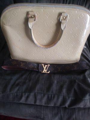 Louis vuitton bag and belt for Sale in Detroit, MI