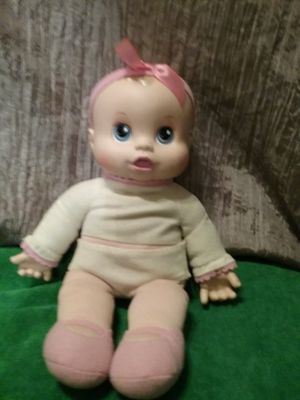 Used, Baby Alive Hasbro 2007 cuddle with me doll for Sale for sale  Compton, CA