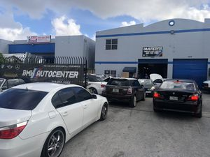 Bmw auto center inc BMW mechanic shop one stop shop we deal with body shops parts anything you need call us know for Sale in Miramar, FL