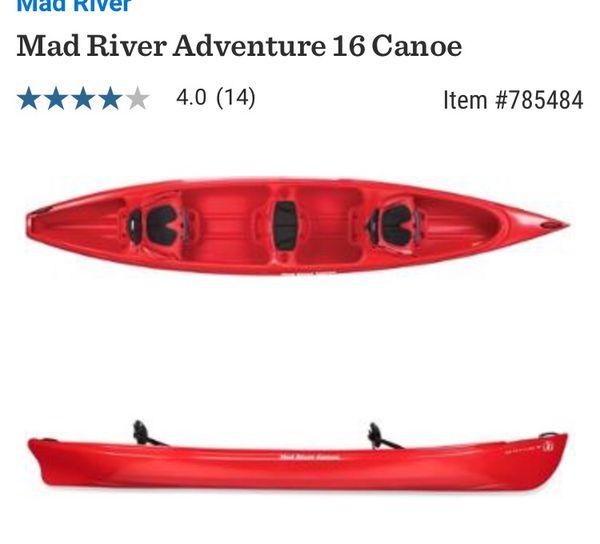 "Canoe Mad River Adventure 16"""