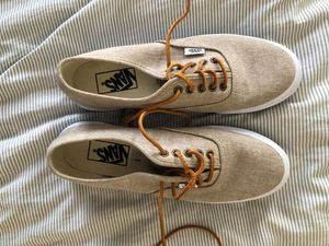 Like-New Women's Vans with Leather Laces for Sale in Santa Monica, CA
