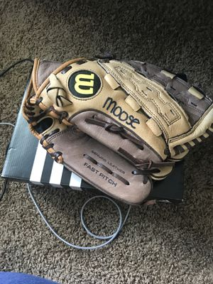 Softball Glove and Cleats for Sale in Orlando, FL