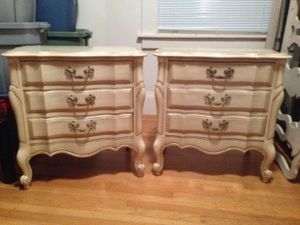 2 End Tables with Drawers for Sale in San Francisco, CA