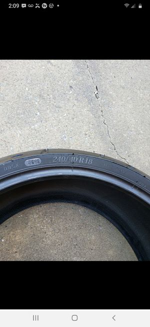Michelin Harley-Davidson 240 40 r18 motorcycle Tire, very good condition for Sale in La Vergne, TN