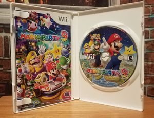 Nintendo Wii Mario Party 9 Game Gaming Disc + Instruction Booklet Bros Complete for Sale in Tampa, FL