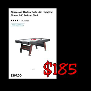 """NEW 84"""" Air Zone Air Hockey Table w/ High End Blower: njft kids for Sale in Burlington, NJ"""