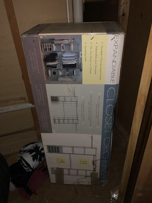 Expandable Closet Organizer for Sale in Gaithersburg, MD