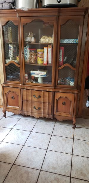 Antique china cabinet for Sale in Corpus Christi, TX