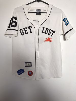 Disney Pixar Forever 21 Baseball Woman Size Small Jersey Finding Dory Get Lost Nemo Stitch Letters Great Condition for Sale in Reedley, CA