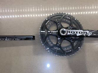 Rotor 3DF Full Crankset (52/36) - Excellent condition for Sale in Seattle,  WA