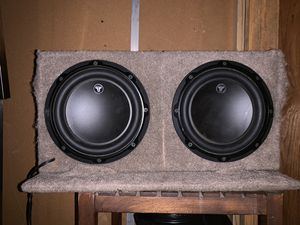 2 dub 3s 8in subs in box for Sale in Bothell, WA