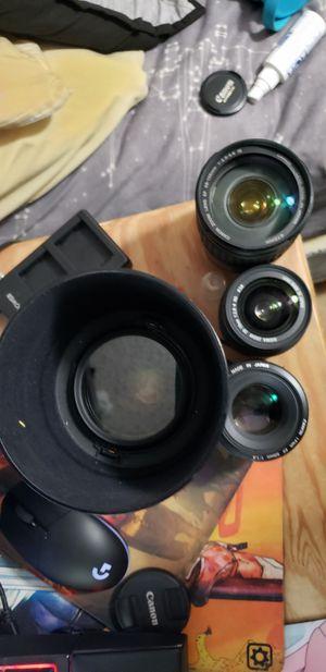 Canon lenses for Sale in Kailua, HI
