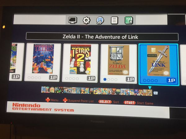 Nintendo NES Classic Edition modded over 200 games NES SNES SEGA GBA