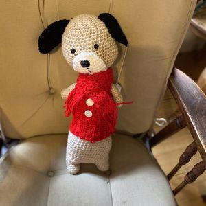 Hand Crochet Little Pup for Sale in Mechanicsville, MD
