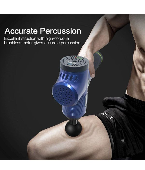 Massage Gun Deep Tissue Percussion relieve muscle soreness and stiffness handheld
