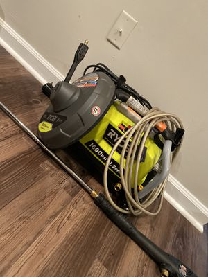 LIKE NEW | 1,600 PREMIUM PSI 1.2 GPM Electric Pressure Washer w/ Surface Cleaner for Sale in Atlanta, GA