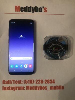 Samsung Galaxy S8 purple (factory unlocked) Excellent Condition for Sale in Oakland, CA