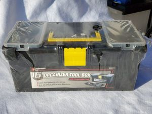 PLASTIC TOOL BOX for Sale in Victorville, CA