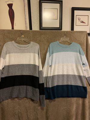 Woman sweaters sizes xl $8 each for Sale in Fresno, CA