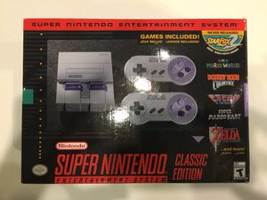 SUPER NINTENDO CLASSIC for Sale in Houston, TX