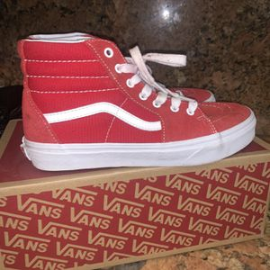 Red & White Vans for Sale in Hialeah, FL