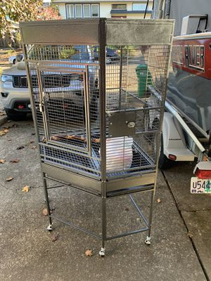 Large corner Bird Parrot Cage for Sale in West Linn, OR