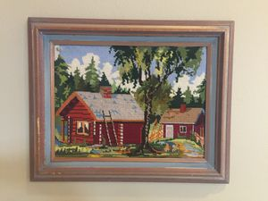 Vintage embroidered art. for Sale in Leavenworth, WA