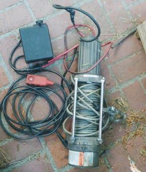 Ramsey winch for Sale in San Bernardino, CA