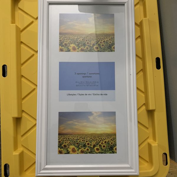 Picture Frame 3 Openings 5x7