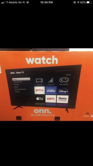 65 inch TV 4K for Sale in Long Beach, CA