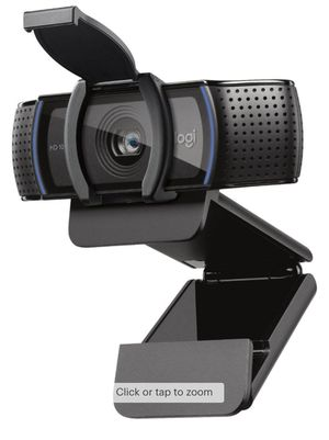 Logitech - C920S HD Webcam with shutter for Sale in Rancho Cucamonga, CA