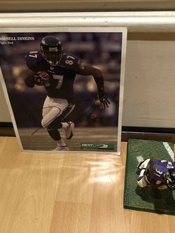 2 Items Autographed hand Signed for Sale in Atlanta,  GA