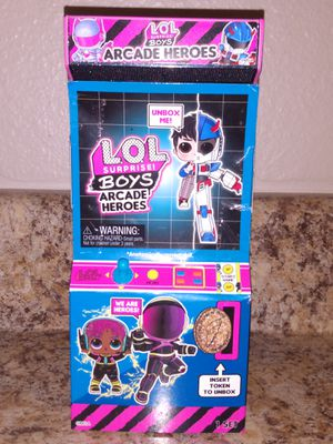 ✨NEW✨LOL Surprise ✨Arcade Hero's ✨VR Dude ✨ for Sale in Puyallup, WA