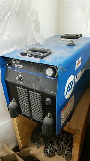 Miller Invision 456P DC inverter arc welder for Sale in Chicago, IL