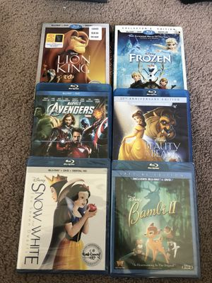 Disney blu-ray movies for Sale in San Diego, CA
