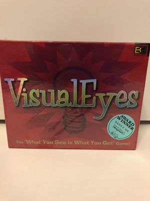 VisualEyes Board Game for Sale in Arlington, TX