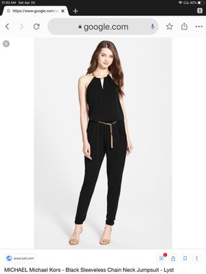Michael Kors culture sleeveless jumpsuit for Sale in Spring Hill, FL