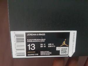 New jordan 6 ring concord size 13 for Sale in Brandon, FL