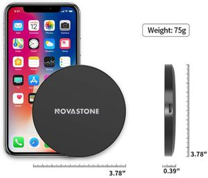 2x 10W Qi Wireless Charger Fast Charging Mat For iPhone XS Max Samsung Galaxy S10 S9 And More phone With wireless charging for Sale in West Covina, CA