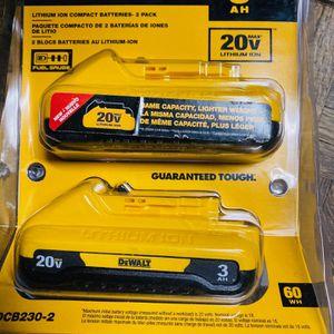 dewalt 20v 3.0 batteries BRAND NEW for Sale in Las Vegas, NV
