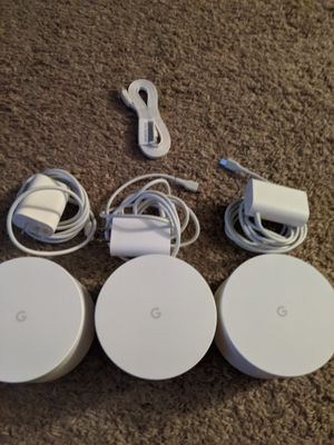 Google WiFi router/mesh wifi for Sale in Fort Collins, CO