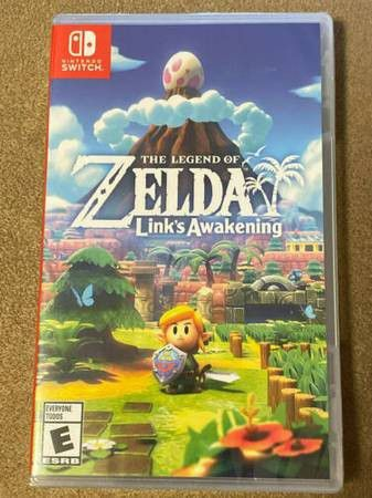 Nintendo Switch The Legend of Zelda Link's Awakening (brand new)