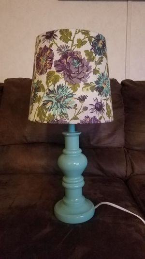 Lamp with shade for Sale in Greenville, SC