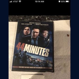 44 Minutes DVD for Sale in Fort Lauderdale, FL