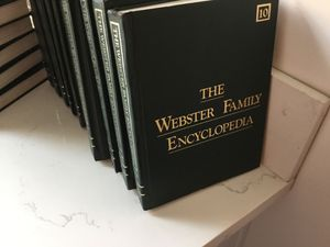 The Webster Family Encyclopedia Collection for Sale in El Segundo, CA