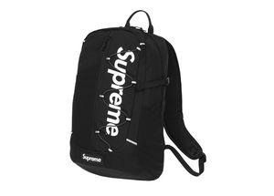 Hypebeast supreme ss17 backpack for men and women work gym school travel bookbag RED OR BLACK available for Sale in New York, NY