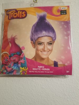 Trolls costume wig for Sale in Ontario, CA
