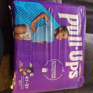 Huggies pull ups for Sale in Porter, TX