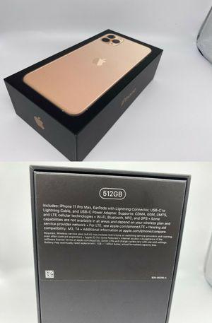 Apple iPhone 11 Pro Max - 512GB - Gold (Unlocked) A2161 for Sale in Kalamazoo, MI